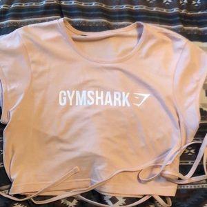 Gymshark Blush Ribbon crop top